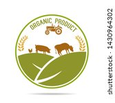 farm fresh of vector emblems... | Shutterstock .eps vector #1430964302