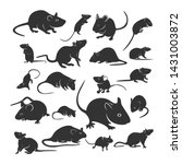 Set Of Mouse Design Vector....