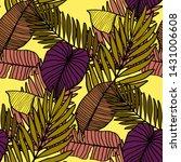 hand drawn seamless pattern...   Shutterstock .eps vector #1431006608