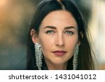 portrait of a young beautiful... | Shutterstock . vector #1431041012