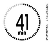 the 41 minutes countdown timer...