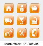 energy icons over white... | Shutterstock .eps vector #143106985