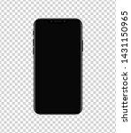 new smartphone design isolated... | Shutterstock .eps vector #1431150965