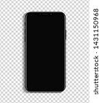 new smartphone design isolated...   Shutterstock .eps vector #1431150968