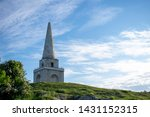 beautiful obelisk with clear...   Shutterstock . vector #1431152315