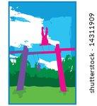 kids swing | Shutterstock .eps vector #14311909
