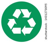 Vector Green Ecology Arrows...