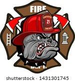 Firefighter Bulldog Tattoo And...