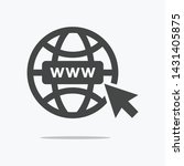 web icon symbol vector  in......