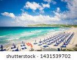 beach of rena di ponente ...   Shutterstock . vector #1431539702