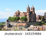 the city of breisach in germany | Shutterstock . vector #143154886