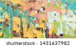artistic sketch backdrop...   Shutterstock . vector #1431637982