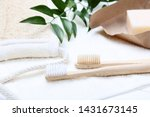 Bamboo Toothbrushes With Towel  ...