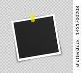 vector photo frame mockup...   Shutterstock .eps vector #1431700208
