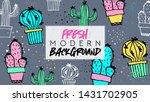 summer. fresh modern background....   Shutterstock .eps vector #1431702905
