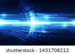 vector future digital speed... | Shutterstock .eps vector #1431708212