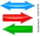 arrows icon | Shutterstock .eps vector #143173795
