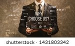 Why Choose Us With Businessman...