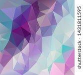 vector abstract irregular... | Shutterstock .eps vector #1431811595