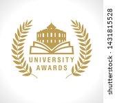 educational awards logotype.... | Shutterstock .eps vector #1431815528