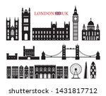 london  england and united... | Shutterstock .eps vector #1431817712