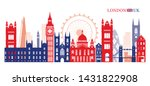 london  england and united... | Shutterstock .eps vector #1431822908
