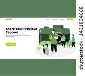 photo blog ui design. camera...