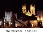A View Of York At Night ...