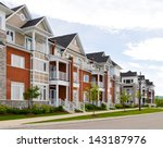 attractive apartment building   Shutterstock . vector #143187976