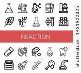 set of reaction icons such as...   Shutterstock .eps vector #1431922325