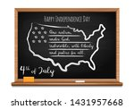 happy independence day. words... | Shutterstock .eps vector #1431957668