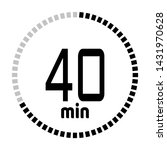 the 40 minutes countdown timer...