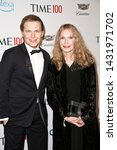 Small photo of NEW YORK-APR 23: Ronan Farrow (L) and Mia Farrow attend the 2019 Time 100 Gala at Frederick P. Rose Hall, Jazz at Lincoln Center on April 23, 2019 in New York City.
