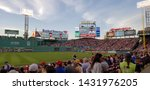 pictures from fenway park in... | Shutterstock . vector #1431976205