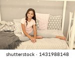 cute and adorable. little girl... | Shutterstock . vector #1431988148