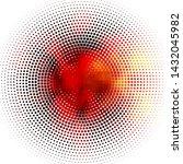 light red  yellow vector... | Shutterstock .eps vector #1432045982