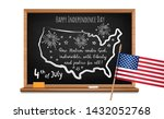happy independence day. words... | Shutterstock .eps vector #1432052768