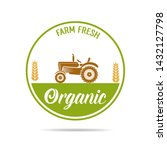 farm fresh of vector emblems... | Shutterstock .eps vector #1432127798