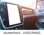 Small photo of panorama car reversing video radar gps map large screen display