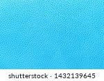 Sky Blue Leather Texture...