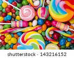 colorful candy | Shutterstock . vector #143216152