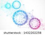 big data visualization... | Shutterstock .eps vector #1432202258