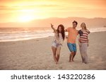 group of friends in their 20s... | Shutterstock . vector #143220286