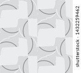 halftone monochrome texture... | Shutterstock .eps vector #1432259462