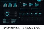 futuristic user interface... | Shutterstock .eps vector #1432271708