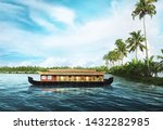 Houseboat On Kerala Backwaters...