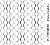 vector seamless pattern.... | Shutterstock .eps vector #1432306652