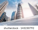 highway heading to the city in... | Shutterstock . vector #143230792