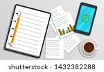 accounting  bookkeeping ...   Shutterstock .eps vector #1432382288