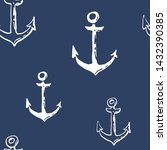 collection of sea anchor ink... | Shutterstock .eps vector #1432390385